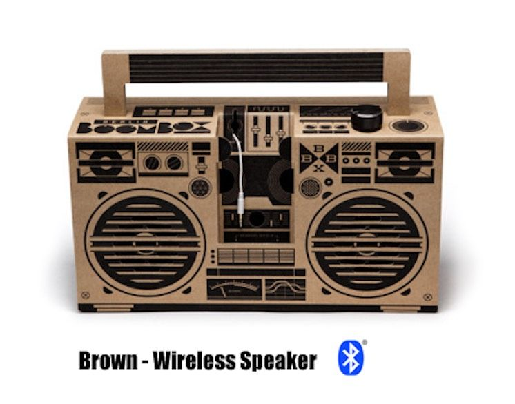 Brown - Classic Speaker (Bluetooth)