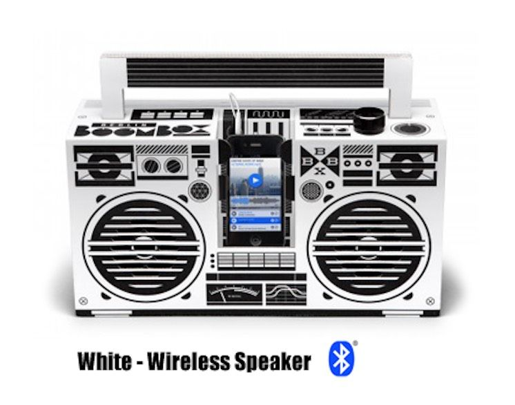 White - Classic Speaker (Bluetooth)