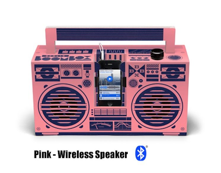 Pink - Classic Speaker (Bluetooth)