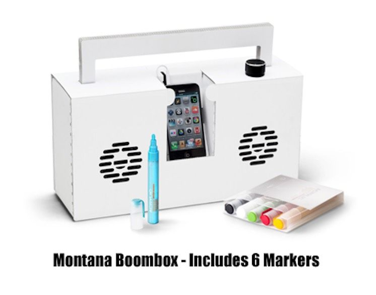Montana Boombox - Includes 6 Makers