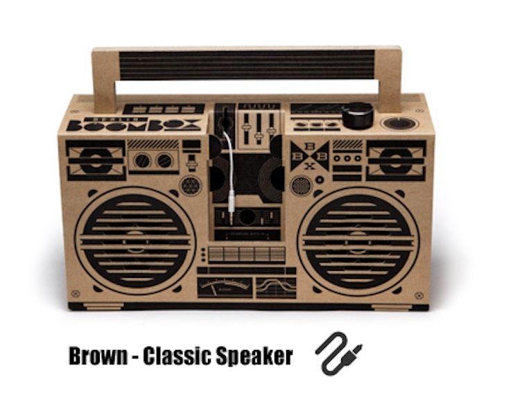 Brown - Classic Speaker