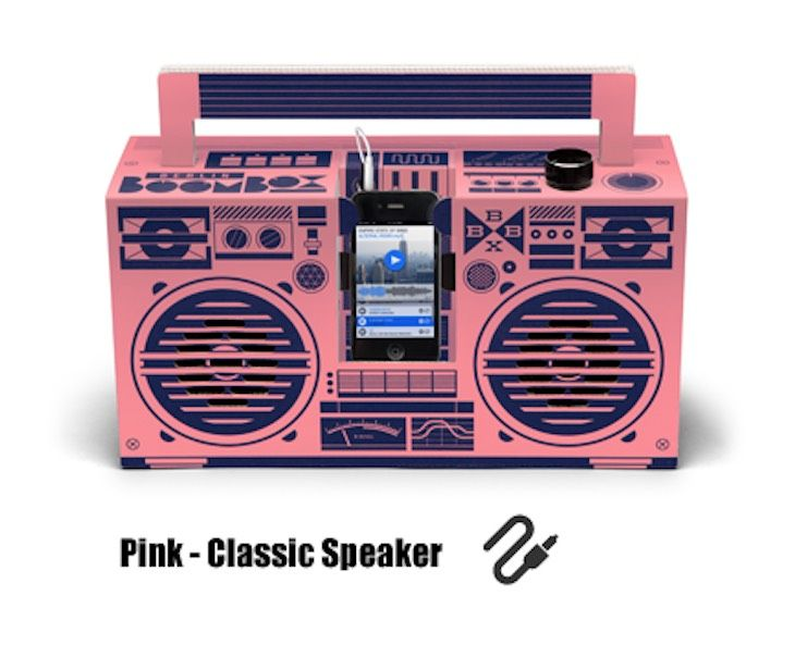 Pink - Classic Speaker