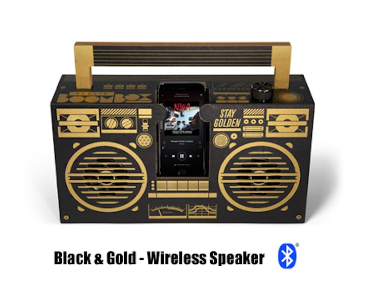 Black&Gold - Classic Speaker (Bluetooth)
